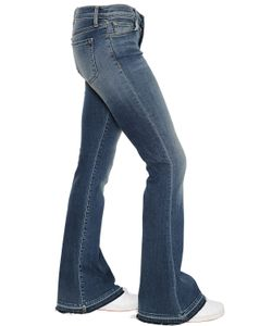 J Brand | Mid Rise Sneaker Flared Denim Jeans