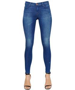 J Brand | Mid Rise Super Skinny Cotton Denim Jeans