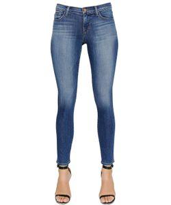 J Brand | Mid Rise Skinny Cotton Denim Jeans