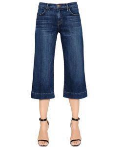 J Brand | Liza Mid Rise Cropped Denim Jeans