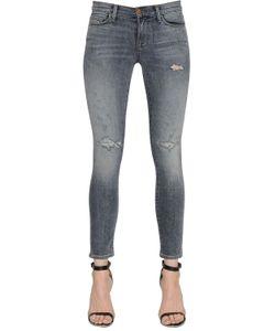J Brand | Destroyed Skinny Cotton Denim Jeans