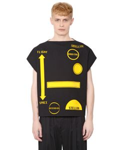 J.W. Anderson   Patches Stretch Japanese Drill T-Shirt