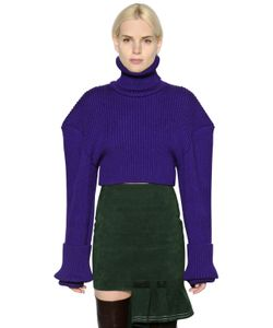 JACQUEMUS | Oversized Shoulders Wool Sweater