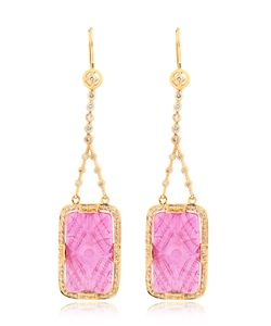 JADE JAGGER | Ruby Diamonds Drop Earrings