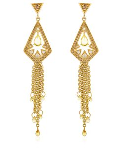 JADE JAGGER | Bohemia Fringed Earrings