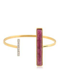 JADE JAGGER | Asymmetrical Bangle Bracelet
