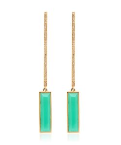 JADE JAGGER | Never Ending Bar Earrings