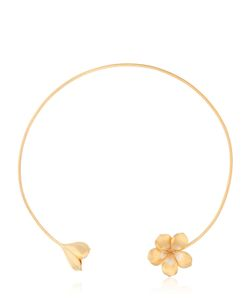 JADE JAGGER | Frangipani Twin Flower Necklace