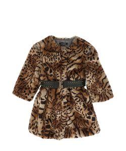 JAKIOO | Printed Faux Fur Coat