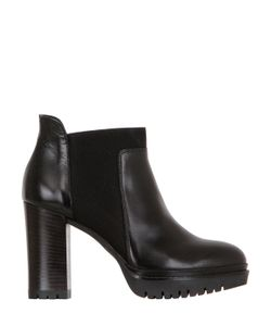 JANET&JANET | 100mm Leather Ankle Boots