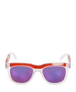 JEREMY SCOTT BY ITALIAN INDEPENDENT | Iconic Bold Acetate Sunglasses