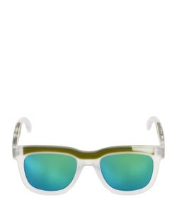 JEREMY SCOTT BY ITALIAN INDEPENDENT | Iconic Bold Acetate Sunglasses