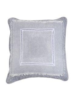 JESURUM VENEZIA 1870 | Pintuck Collection Mohair Velvet Pillow