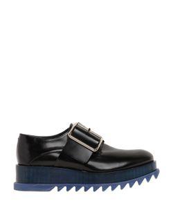 Jil Sander | 50mm Brushed Leather Platform Shoes