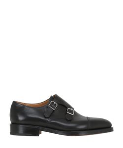JOHN LOBB | William Leather Monk Strap Shoes