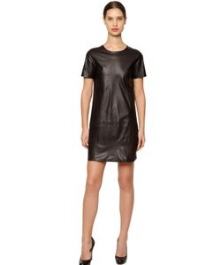 JOSE' SANCHEZ | Stretch Nappa Leather Dress
