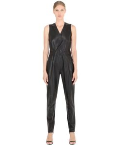 JOSE' SANCHEZ | Sleeveless Nappa Leather Jumpsuit