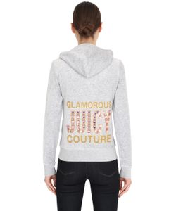 Juicy Couture | Juicy Embellished Jersey Sweatshirt