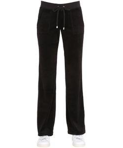 Juicy Couture | Logo Embellished Jersey Jogging Pants