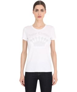 Juicy Couture | Logo Printed Cotton Jersey T-Shirt