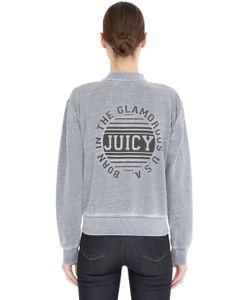 Juicy Couture | Logo Cotton Jersey Sweatshirt