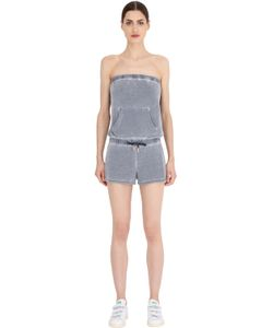 Juicy Couture | Strapless Cotton Jersey Jumpsuit