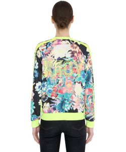 Juicy Couture | Flowers Printed Cotton Jersey Sweatshirt
