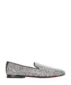 Kardinale | Crystal Embellished Suede Loafers