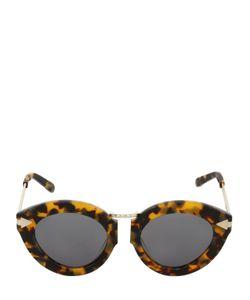 Karen Walker | Lunar Flowerpatch Crazy Tort Sunglasses