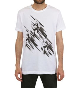 Karl | Printed Heads Cotton T-Shirt