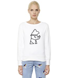 Karl Lagerfeld | Rocky Choupette Print Cotton Sweatshirt