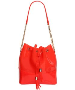 Kartell | Pvc Bucket Bag With Metal Chain Detail