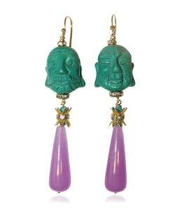 KATERINA PSOMA | Buddha Pendant Earrings