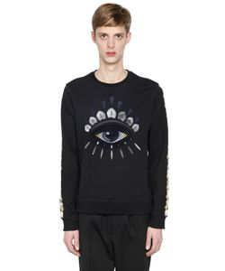 Kenzo | Eye Embroidered Cotton Sweatshirt