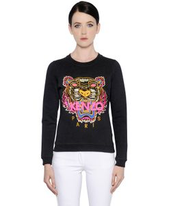 Kenzo | Tiger Embroidered Cotton Sweatshirt
