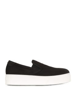 Kenzo | 40mm Tiger Suede Slip-On Sneakers