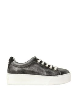 Kenzo | 40mm Metallic Leather Sneakers