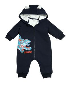 Kenzo Kids | Cotton Interlock Plush Romper