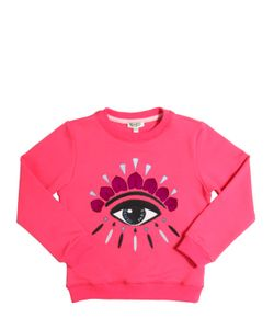 Kenzo Kids | Eye Embroidered Cotton Sweatshirt