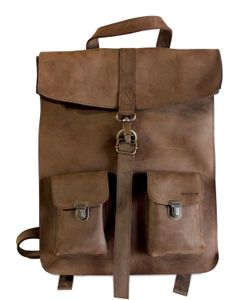 KJORE PROJECT | Survey Classic Leather Backpack