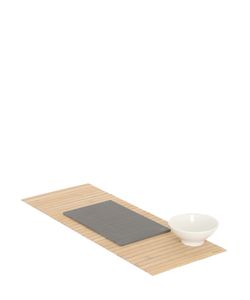 KNINDUSTRIE | Sashimi Set With Mat Plate Bowl