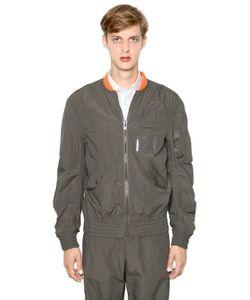 Kolor | Light Techno Cotton Bomber Jacket