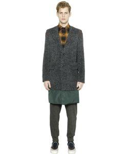 Kolor | Fur Effect Alpaca Wool Coat