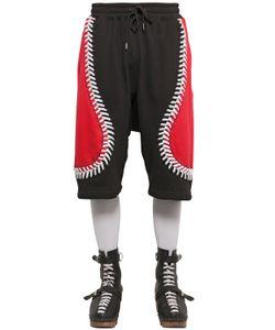 Ktz | Baseball Seams Cotton Jogging Shorts