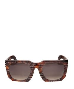 KUBORAUM BERLIN | Layer Burnt Tortoiseshell Sunglasses