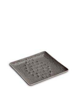 L'OBJET | Crocodile Porcelain Square Tray