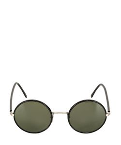 L.G.R | Handmade Elliot Round Metal Sunglasses
