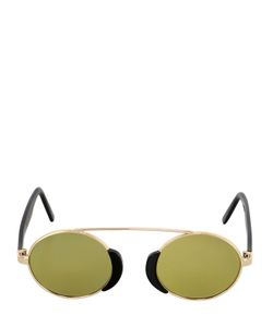 L.G.R | Togo Metal Round Mirrored Sunglasses
