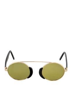 L.G.R | Togo Metal Round Mirrored Sunglasses