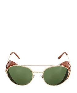 L.G.R | Amref Dahlak Metal Leather Sunglasses